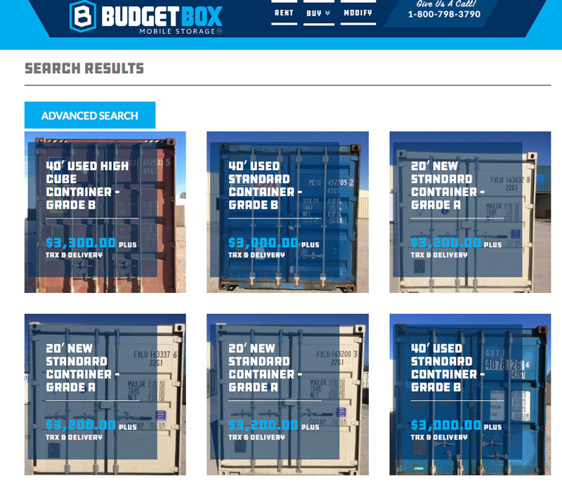 Shipping Containers - Tulsa, OK - Budget Box Mobile ...